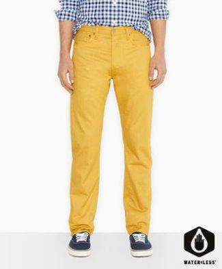 levis 501 original fit jeans sale - rinse dandelion color
