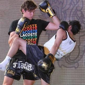 milos raonic kickboxing lesson