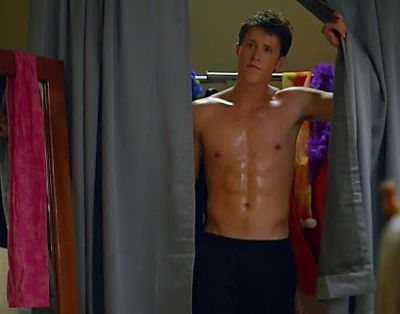 shane harper body - washboard abs