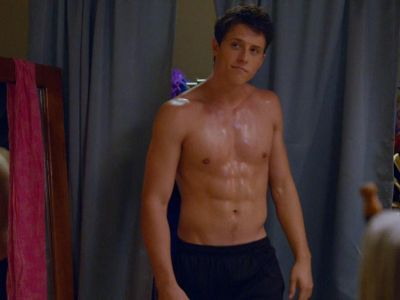 shane harper shirtless abs