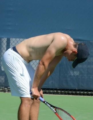 Dominic Thiem underwear waistband