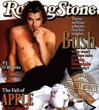 Gavin Rossdale Shirtless - Rolling Stone Cover