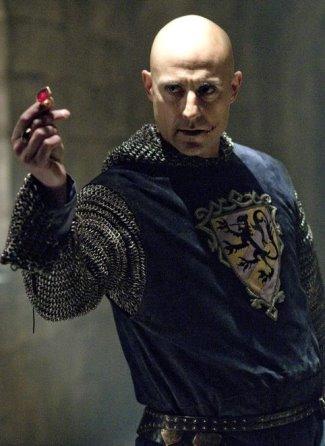 Mark Strong as Sir Godfrey in Robin Hood