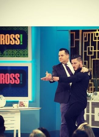 Valentin Chmerkovskiy gay with Ross Mathews