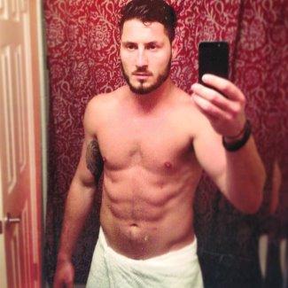 Valentin Chmerkovskiy iphone selfie