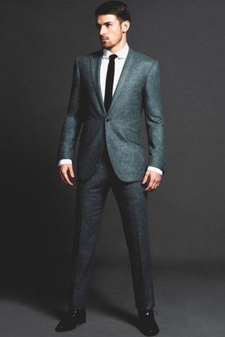 aaron ramsey model - mens suit