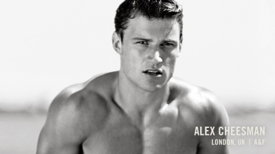 alexander cheesman - abercrombie male model - shirtless