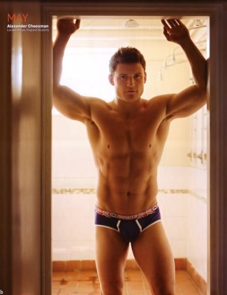 Alex Cheesman Rugby Player Underwear