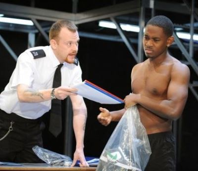 aml ameen smoking - category b at London Tricycle theatre