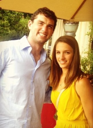 andrew luck girlfriend - Nicole Pachanec