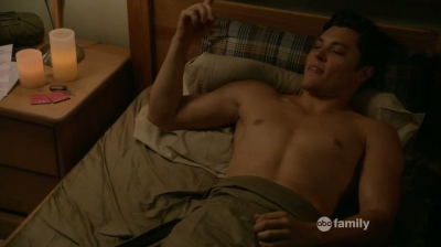 blair redford shirtless - switched at birth