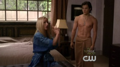 blair redford washboard abs