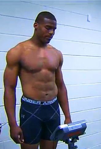 cam newton weigh-in underwear