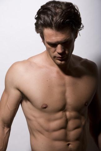 charlie weber gay - shirtless
