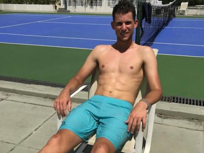 dominic thiem body hot tennis hunk