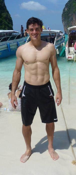james mcgee shirtless tennis hunk