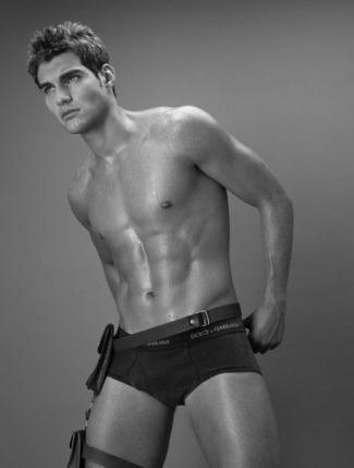 latino male underwear models - david garces - venezuela