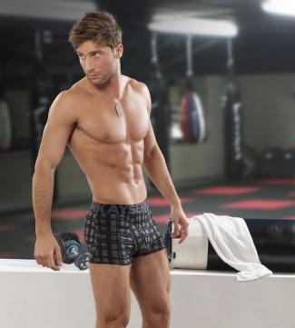 latino male underwear models - ivan orduna - argentina - for kaiser underwear