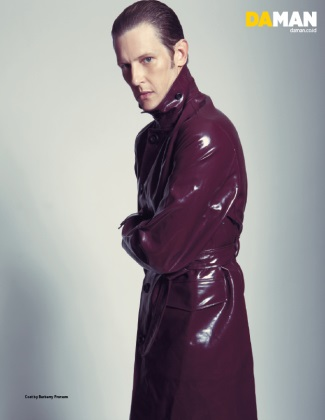 leather coats for men - burberry - gabriel man on daman