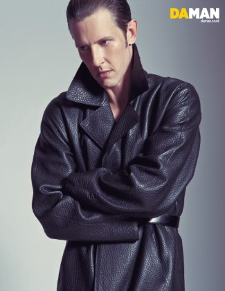 mens leather coats - louis vuitton - gabriel mann on daman