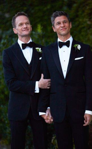neil patrick harris wedding with david burtka - photos