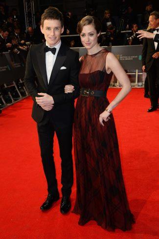 Gucci-Mens-Suits-Eddie-Redmayne-Hannah-Bagshawe-2014-BAFTA-Awards