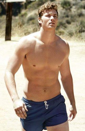 derek theler body hot in shorts