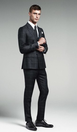 gucci mens suits - fall winter 2014-15 - male model Clement Chabernaud