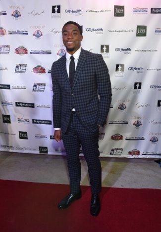gucci suits for men 2014-2015 - chadwick boseman - movie premiere