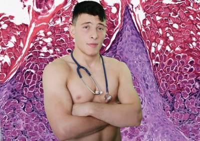 hot shirtless doctors - 2015 calendar - mr january