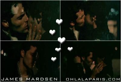 james marsden jesse bradford gay kiss in heights