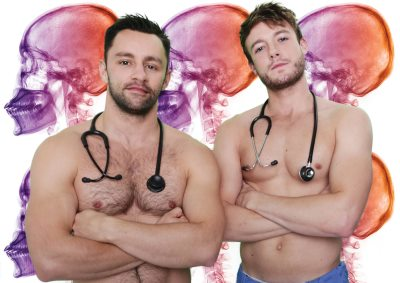 sexy male doctors calendar - september 2015