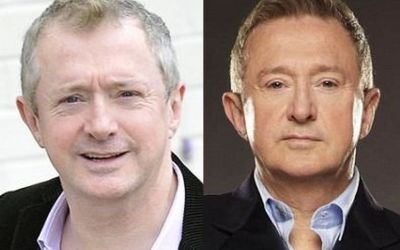 Louis Walsh urfut hair transplant - before and after photos
