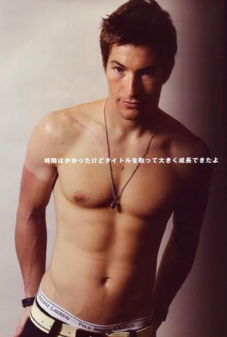 Nicky Hayden shirtless - underwear - polo ralph lauren