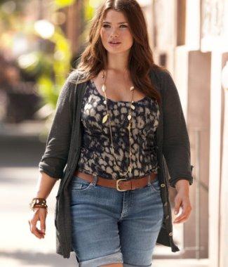 Plus-Size-Model-Tara-Lynn-for-HM-Summer-Chic-Campaign-2011