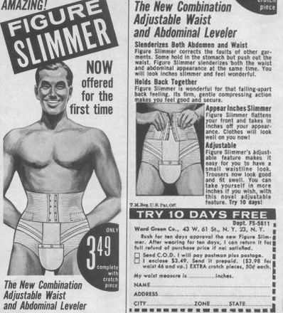 abs slimming underwear for men - waist adjuster