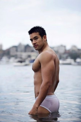 actors in tighty whitie underwear - Francis Mossman