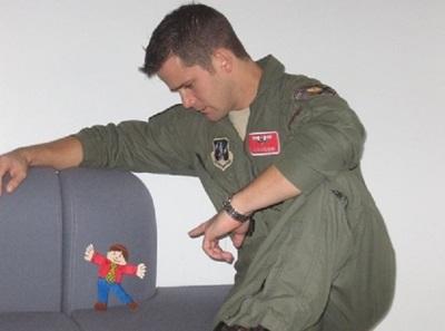adam kinzinger flight suit