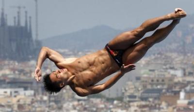 best male diver in the world 5 - Shixin Li