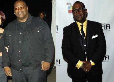 celebrity gastric bypass surgery - randy jackson - before and after photos