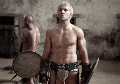 jai courtney hot body spartacus
