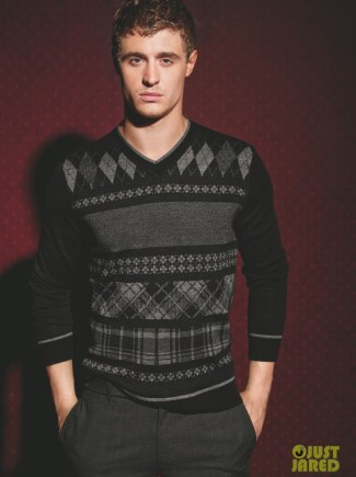 max irons hot sweater inc campaign