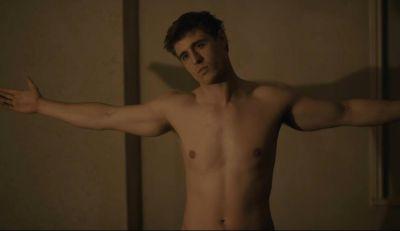 max irons shirtless hunk