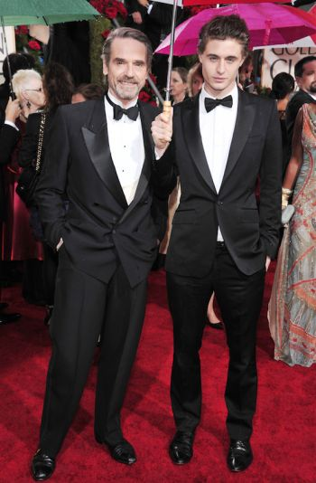max irons underwear hot in suit with dad