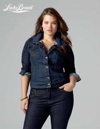 plus size jeans - lucky brand - tara lynn