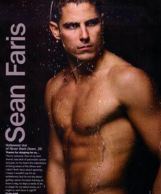 sean faris naked cancer awareness cosmo magazine