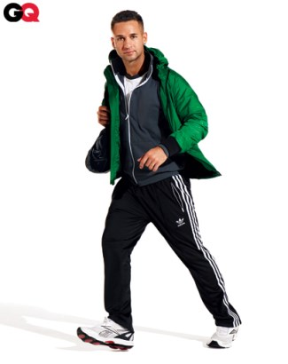 sexy adidas track pants - mike sorrentino