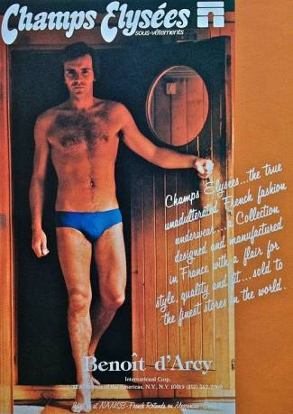 vintage mens underwear - Champs Elysees Briefs