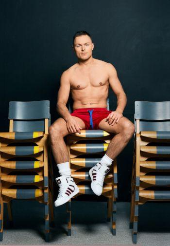 Andrew Hayden-Smith shirtless body