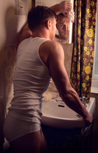 Andrew Hayden-Smith underwear